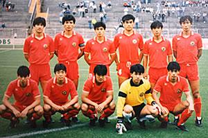 サッカー日本代表時代